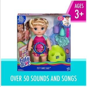 Rare Baby Alive Potty Dance Baby Talking Baby Doll